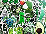 15 Random Kermit The Frog Avocado Animals Variety Flowers Laptop Stickers