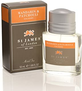 St James of London Mandarin and Patchouli Cologne
