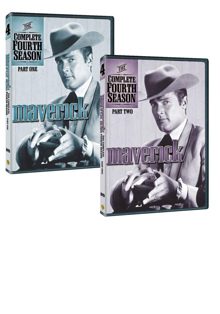 Maverick The Complete Fourth Luxury goods Season Back 2 to List price Pack