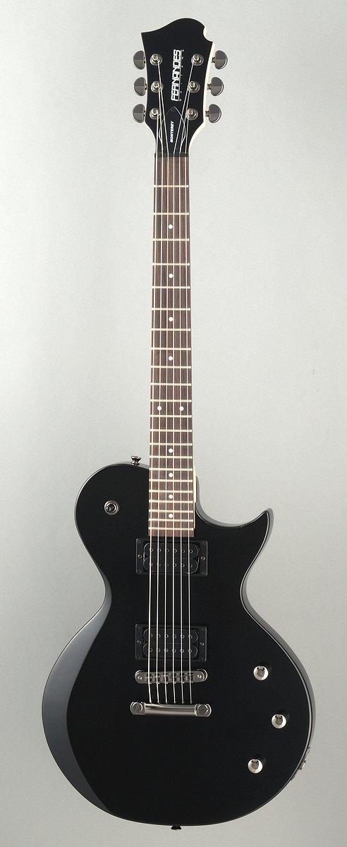 Cheap Fernandes Monterey X Electric Guitar - Black Black Friday & Cyber Monday 2019