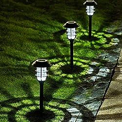 cheap Solpex 8-pack Solar Street Rhodolite, Solar Garden Light, Waterproof LED Pass …