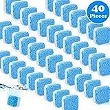 40 pezzi lavatrice solida pulitore effervescente tovagliatrice pulitore pulizia profonda rimozione pulire con tripla decontaminazione per bagno stanza cucina