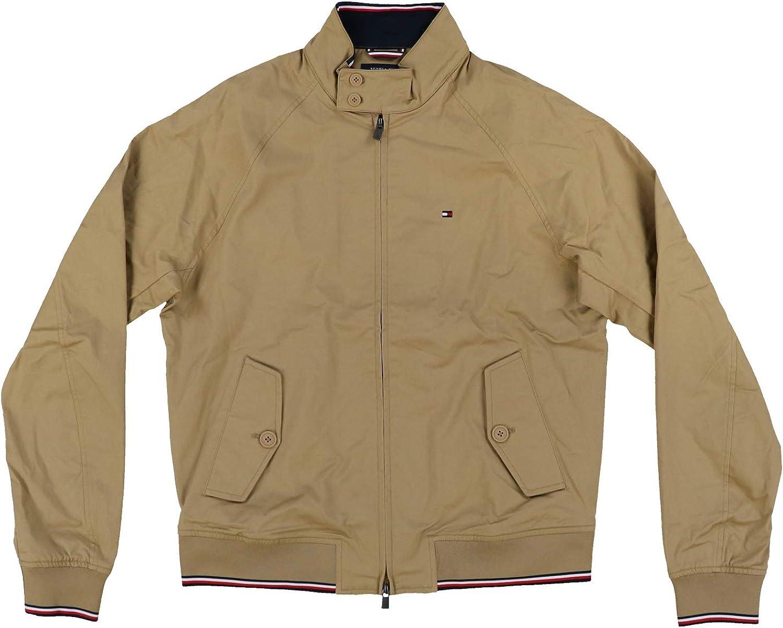 Tommy Hilfiger Mens Full Zip Button Pocket Lightweight Jacket