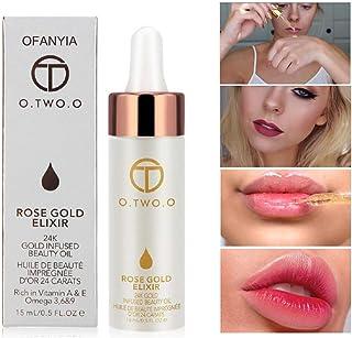 Ofanyia 24k Rose Gold Elixir Skin Makeup Oil Beauty Oil Essential Oil Before Foundation..