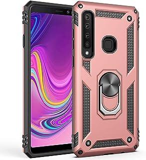 Hicaseer Galaxy A9 2018 Case, PC+TPU Anti-drop Anti-shock Anti-scratch Magnetic 360 Degree Rotating Kickstand Full Cover f...