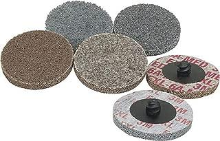 PRICE is per WHEEL Thickness 1//2 in Fine Grade 15824 8 in Dia 3//4 in Center Hole 3M Scotch-Brite XL-UW Unitized Silicon Carbide Soft Deburring Wheel Arbor Attachment 4000 Max RPM