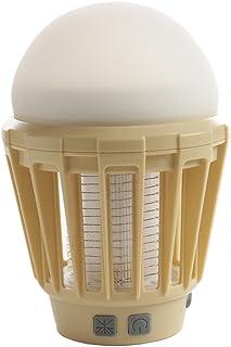 MOSKEE LANTERN モスキーランタン 暖色ライト(ベージュ) キャンプギア 虫よけライト 殺虫ライト 殺虫灯 蚊対策 USB充電 LED 防水 シリコン素材 アウトドア LEDライトと殺虫ライトがひとつになったポータブルランタン!