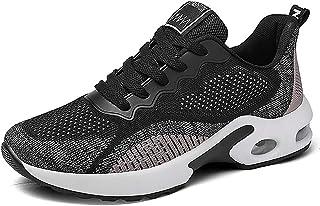 INMINPIN Scarpe da Ginnastica Donna Air Scarpe da Corsa Correre Running Sportive Sneakers Casual Interior all'Aperto