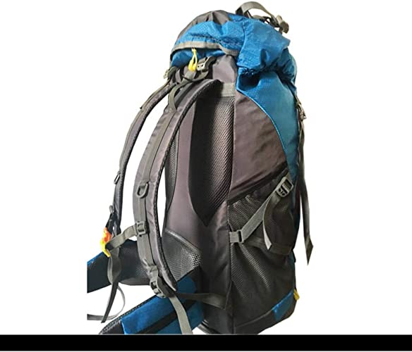 JKLSNMA Chaussures de randonnée 60L Hiking Backpack Daypack for Men and femmes Waterproof Camping Traveling Backpack Outdoor Climbing Sports Bag