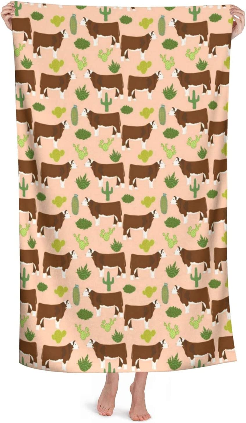 Sales of SALE items from new works Hereford Cow Fabric Cattle and To Cactus Beach Minneapolis Mall Microfiber Towels