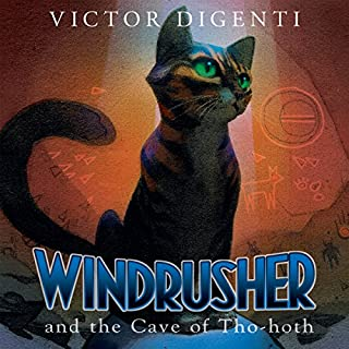 Windrusher and the Cave of Tho-hoth audiobook cover art