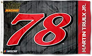 Martin Truex Jr #78 2018 NUMBER 3x5 Flag w/grommets Outdoor House Banner Nascar Racing