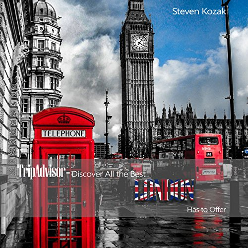TripAdvisor: Discover All the Best London Has to Offer audiobook cover art