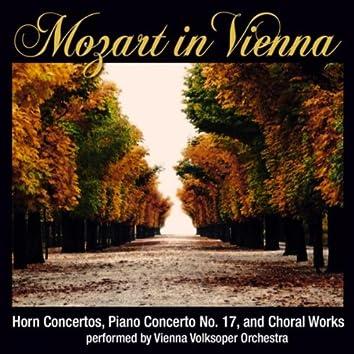 Mozart In Vienna: Horn Concertos, Piano Concerto No. 17 And Choral Works