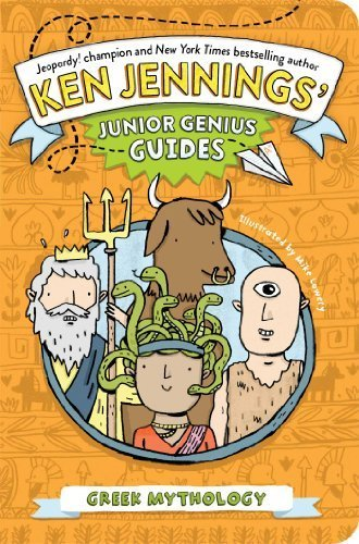 Greek Mythology (Ken Jennings' Junior Genius Guides) by Jennings, Ken (February 4, 2014) Paperback
