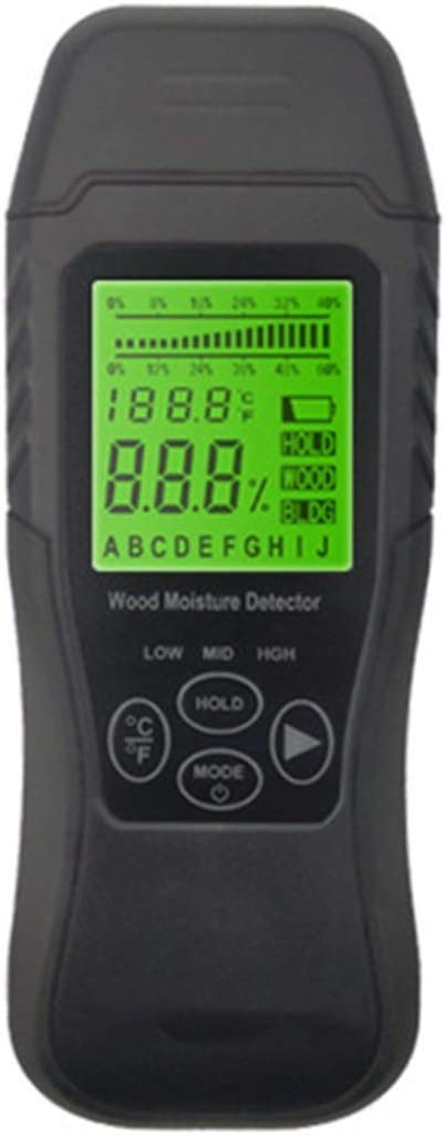 GAOZ Moisture Meter Detects MT1905 5-50% Digital M Two Year-end gift Pins Wood All items free shipping