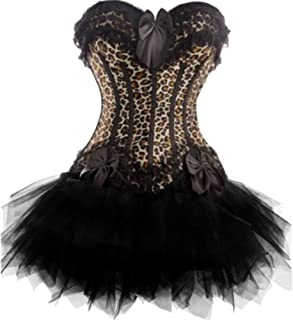 Leopard Print Corset And Tutu
