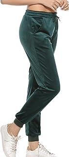 VICGREY ❤ Pantaloni da Yoga Casual da Donna Pantaloni Sport Larghi Gambe Atletiche Allenamento Pantaloni Leggins Sportivi Donna Yoga Pantaloni Leggings Fitness