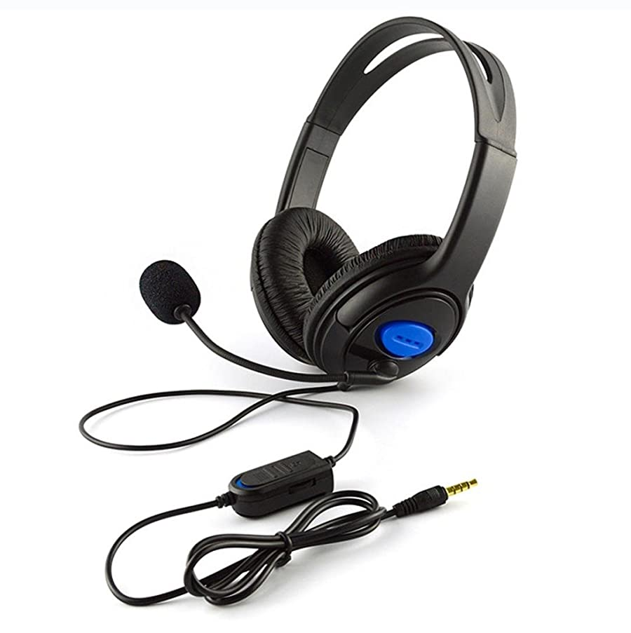 Staron? Gaming Headset, Wired Gaming Headphones with Mic Wired Noise Isolation Gaming Headphones for Laptop Computer, Game Console, PS4 and so on (Black)
