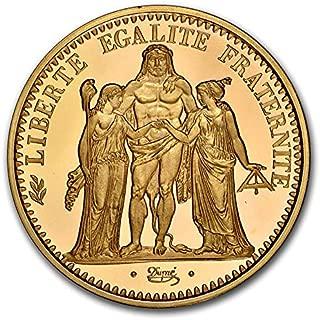 1973 FR France Gold Piedfort 10 Francs PR-67UCAM NGC Gold PR-67 NGC