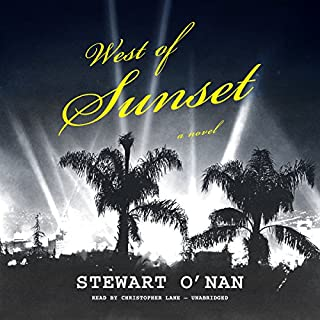 West of Sunset audiobook cover art