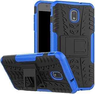 Samsung Galaxy J7 2018 / Galaxy J7 V 2nd Gen Case/Galaxy J7 Refine Case/Galaxy J7 Aero/J7 Star/J7 Top/J7 Crown/J7 Aura/J7 Eon/J737V/J737T Case,ZERMU Ultra Thin Durable Hard Plastic Case with Kickstand