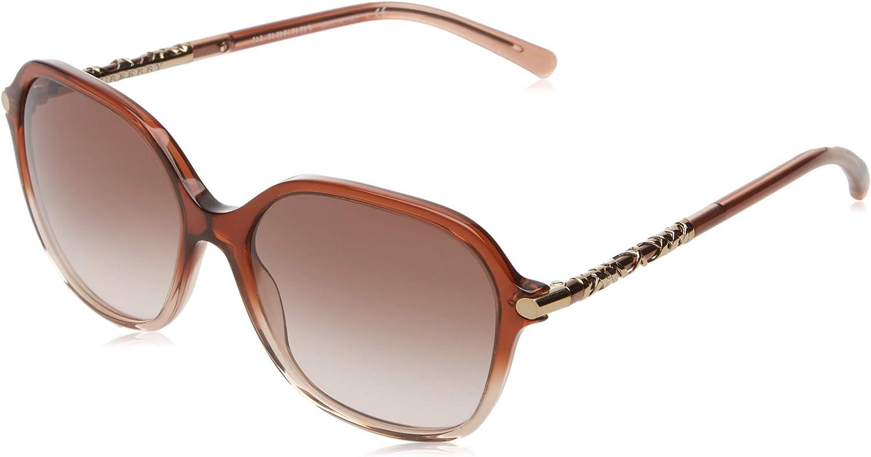Burberry Women's BE4228 Sunglasses Brown Gradient Pink   Brown Gradient 57mm