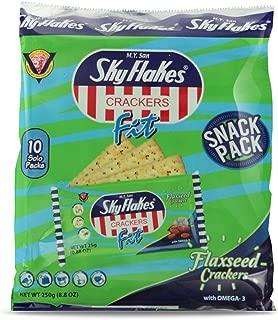 M.Y. San SkyFlakes Crackers Flaxseed 8.8oz, 3 Pack