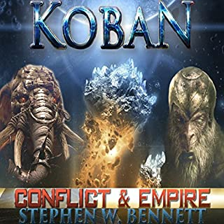 Koban: Conflict and Empire audiobook cover art