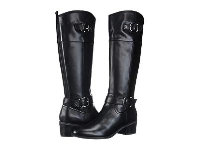 Bandolino Pries (Black Leather) Women