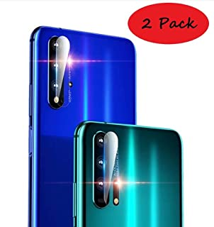 FanTing camera lens protective film for Vivo Y15,transparent,ultra-thin,scratch-resistant,soft tempered glass lens protective film for Vivo Y15-2 Pack