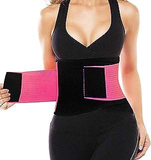 3138ebc728 Waist Trainer Belt for Women   Man - Waist Cincher Trimmer Weight Loss Ab  Belt -