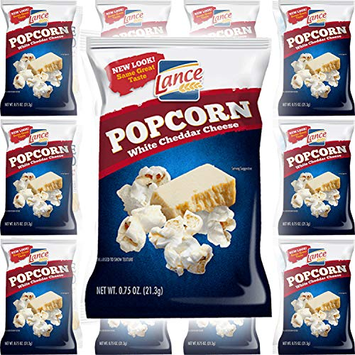 Best Review Of Lance White Cheddar Cheese Popcorn .75 (12-Pack)