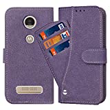 Asuwish Moto Z Play Case,Luxury Leather Wallet Phone Cases with Credit Card Holder Slot Stand Kickstand Book Rugged Flip Folio Protective Cover for Motorola Moto Z Play Droid Women Men Girls Purple