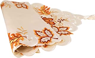Camino de mesa de regalo Magi para Navidad Acción de Gracias otoño Camino de mesa decoraciones para restaurante cocina...