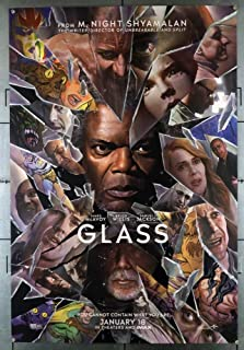 "GLASS 2019 Original Version B DS 2 Sided 27x40/"" Movie Poster Bruce Willis McAvoy"