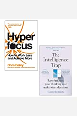 Hyperfocus By Chris Bailey & The Intelligence Trap By David Robson 2 Books Collection Set Paperback