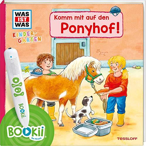 BOOKii® WAS IST WAS Kindergarten Komm mit auf den Ponyhof! (BOOKii / Antippen, Spielen, Lernen)