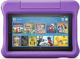 Fire7 Kids-Tablet   Ab dem Vorschulalter   7-Zoll-Display, 16GB, violette kindgerechte Hülle