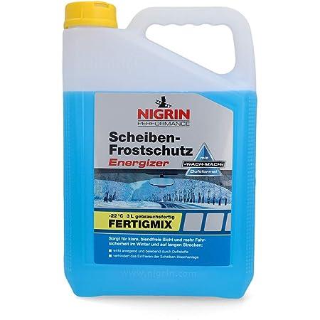 Nigrin 20562 Scheiben Frostschutz Energizer Gebrauchsfertig Bis 22 3 Liter Schlierenfreier Und Effektiver Scheibenreiniger Winter Auto