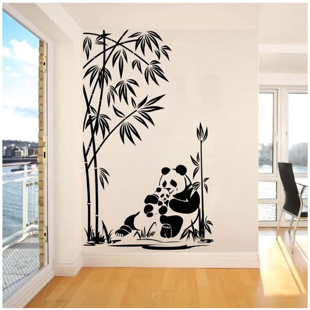 aksldf Bella Panda in Max 86% OFF Foresta Fees free di Bambù Adesivo Sticker Art Natur