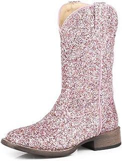 حذاء برقبة غربي لامع للفتيات الصغار من روبير - 09-017-1903-2814 Pi