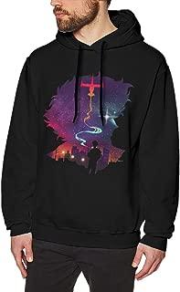 Cowboy Bebop See You in Space Mens Long Sleeve Sweatshirts Man's Hoodies Black