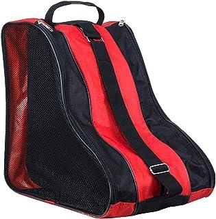 LINVINC Bolsa para Patines Unisex - Patines de Hielo Skate Bag Mochila Protecciones Patines en Linea Adulto Niños