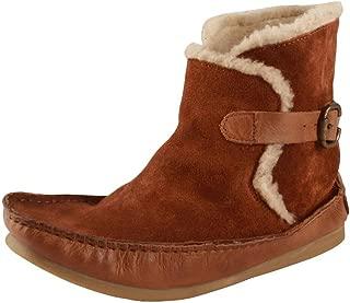 Salt N Pepper 11-382 Ozone TAN Leather Cognac Boots