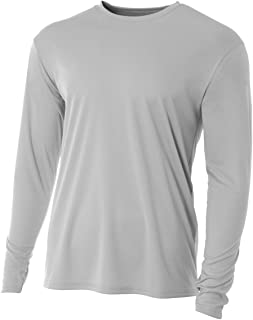 A4 Men's Cooling Performance Crew Long Sleeve Tee