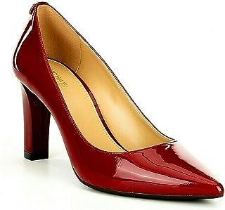 Women Abbi Patent Leather Flex Pumps, Maroon