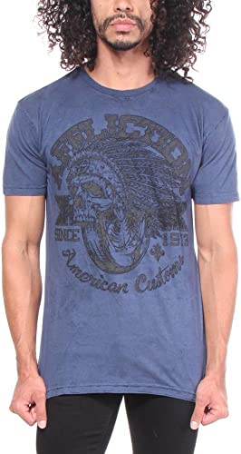 Affliction Bull courir - T-shirts - Hommes