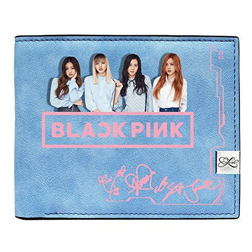 Blackpink Billetera Monedero Encantador de Las Muchachas Monedero Coreano Impreso...
