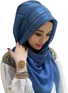 cc2eee7a10 Zhengpin Muslim Islam Headscarf Hijabs Cap for Women Cotton Hijabs Scarves  Cape